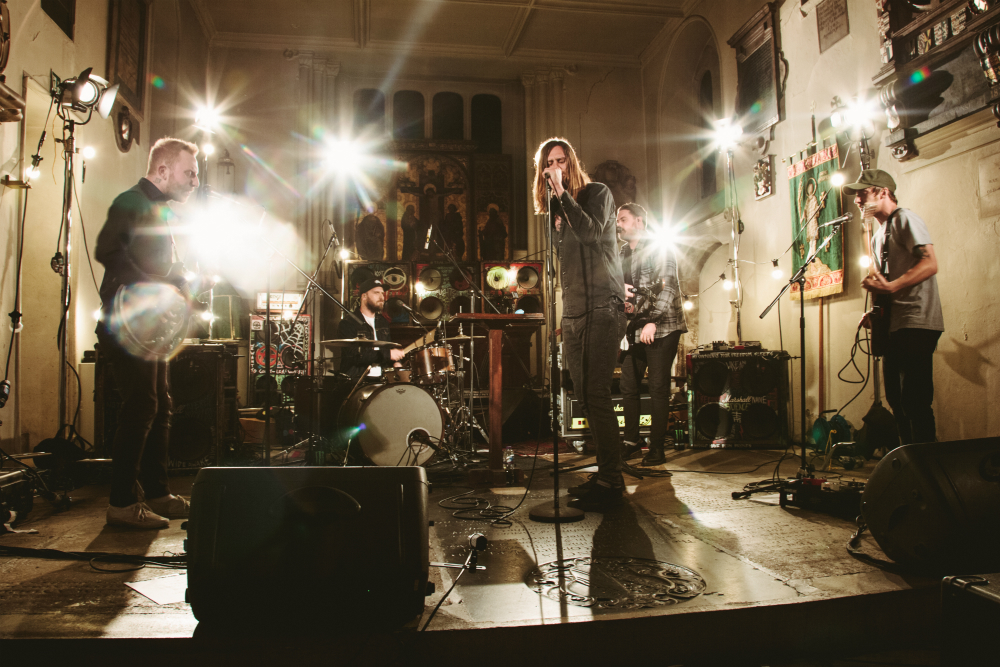 While She Sleeps release video footage of 'Silence Speaks' live at St Pancras Old Church