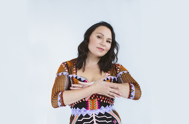 Pictured: Tanya Tagaq by Rebecca Wood