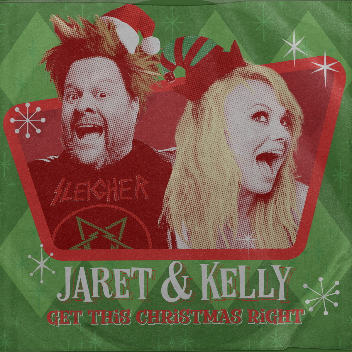 "Bowling For Soup's Jaret Reddick & The Dollyrots' Kelly Ogden Present ""Get This Christmas Right"""