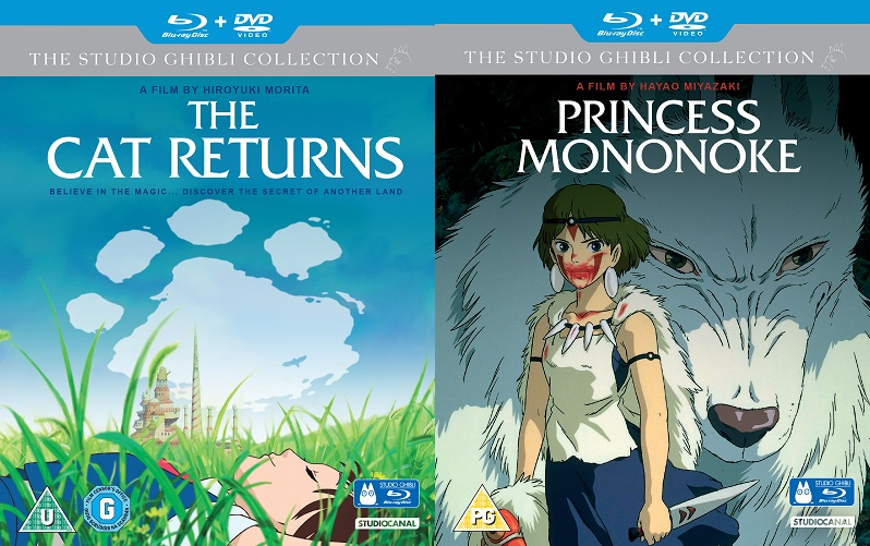Win Studio Ghibli Blu-Ray DVD's