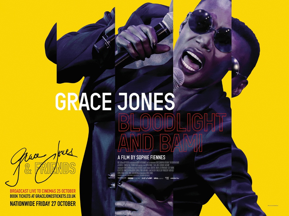 UK trailer launched for Grace Jones: Bloodlight And Bami