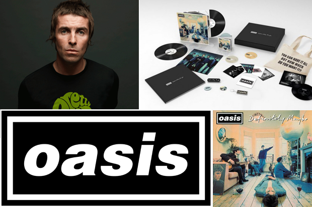 Win Signed Liam Gallagher Chasing The Sun Definitely Maybe Box Set