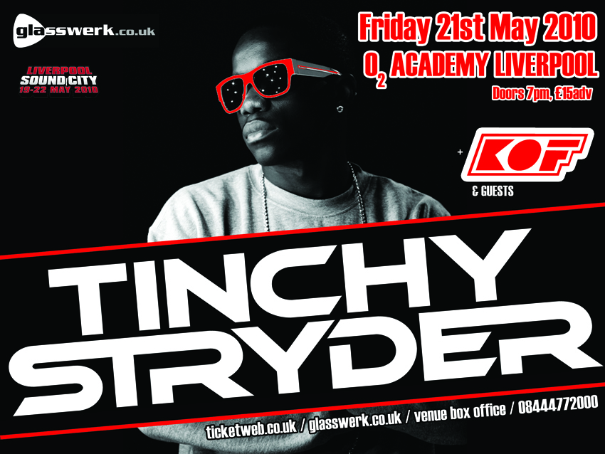 Win Tinchy Stryder Tickets