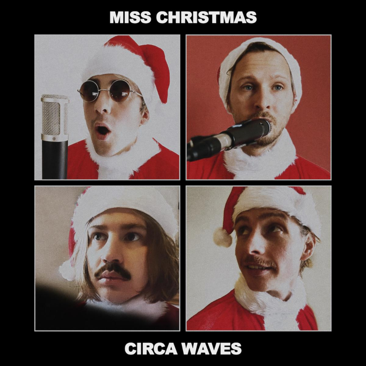 "Circa Waves Share Festive New Song ""Miss Christmas"""