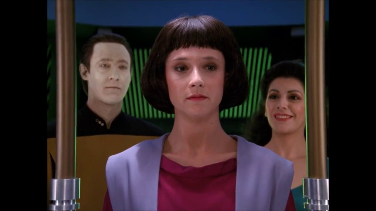 Commentary. Star Trek TNG – The Offspring