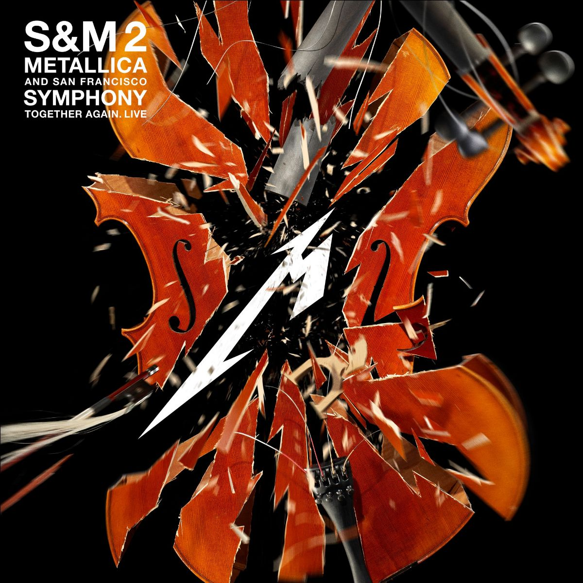 Metallica & San Francisco Symphony: S&M2 Live Album and Video Documenting September 6 & 8 Shows at San Francisco's Chase Centre