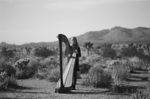 "MARY LATTIMORE shares new harp track """"It Feels Like Floating"""""
