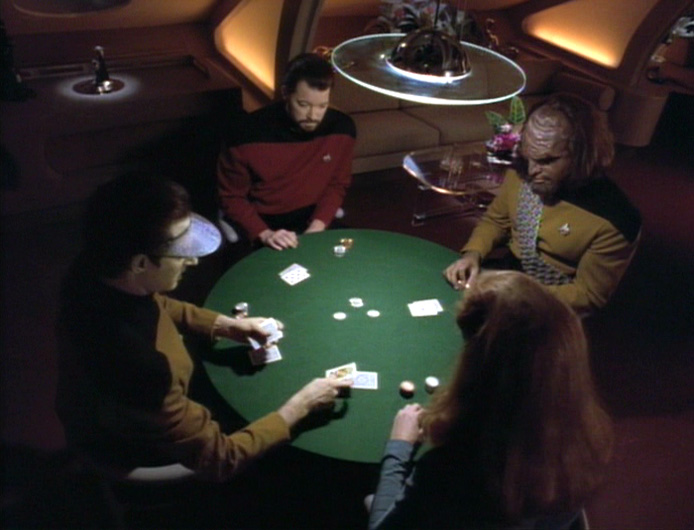 Commentary. Star Trek TNG – Cause and Effect