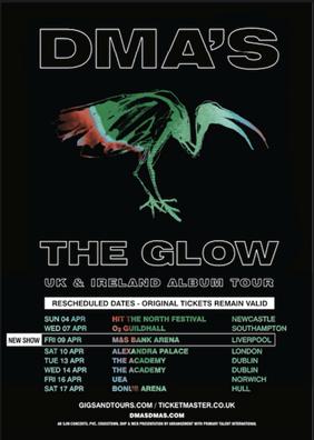 DMA's reschedule UK tour for April 2021