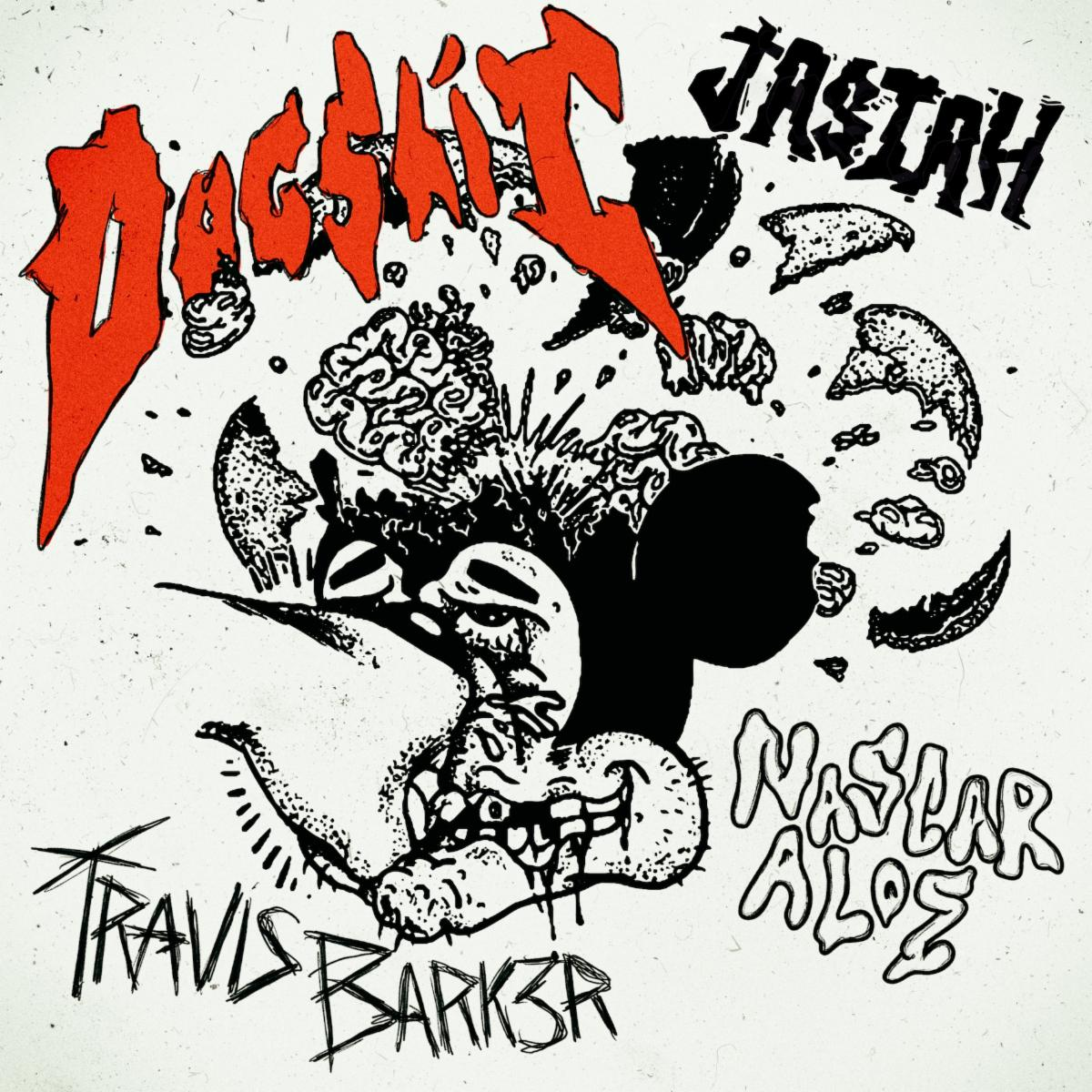 "TRAVIS BARKER SHARES NEW SONG FEATURING JASIAH & NASCAR ALOE FOR ""DOGSHIT"""
