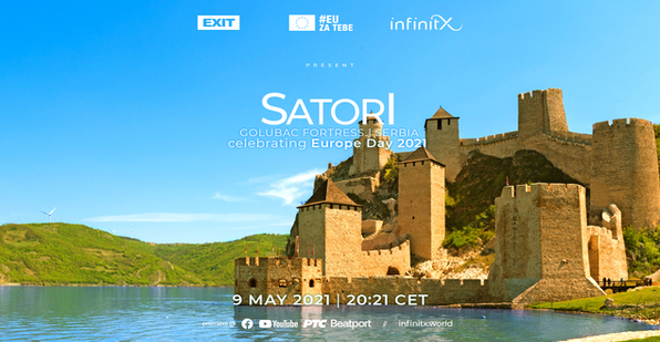 EXIT Festival presents InfinitX livestream featuring Satori at stunning Golubac Fortress
