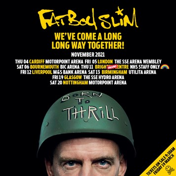 Fatboy Slim announces an extra hometown show