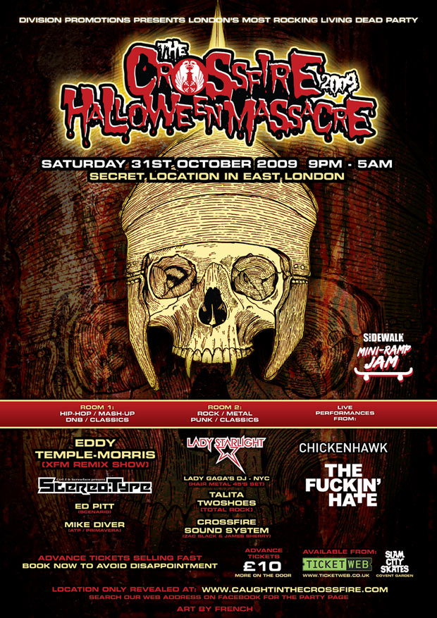 Win Tickets To Crossfire's Halloween Massacre