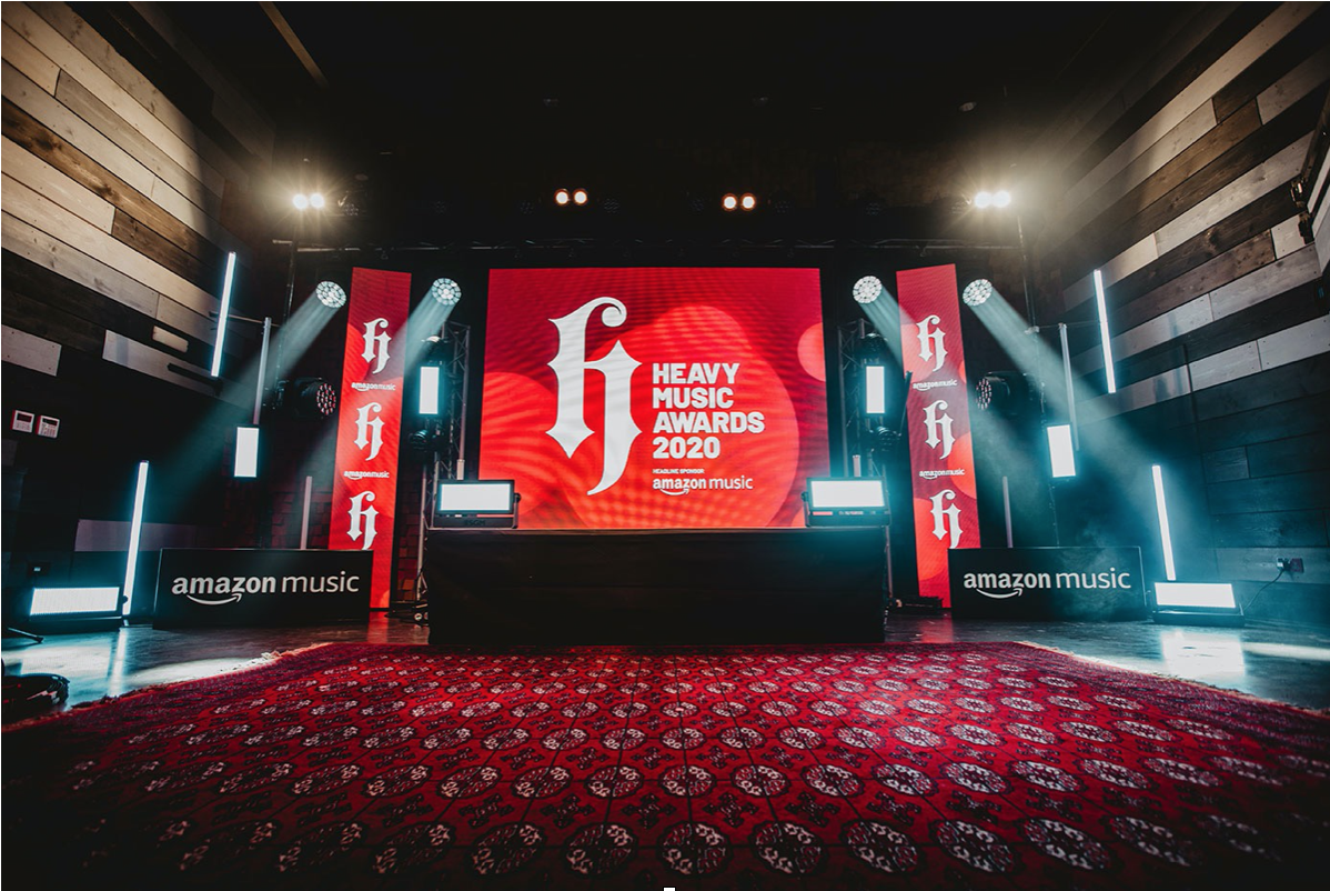 HEAVY MUSIC AWARDS 2020 PRESENTED BY AMAZON MUSIC MOVES ONLINE  PREMIERS ON TWITCH THURSDAY 3 SEPTEMBER