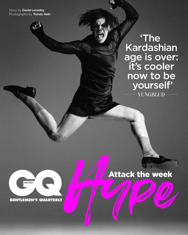 YUNGBLUD COVERS GQ HYPE