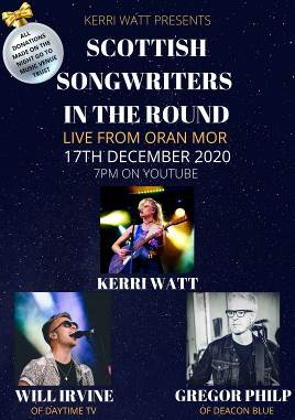 KERRI WATT & GUESTS ANNOUNCE CHRISTMAS LIVE STREAM