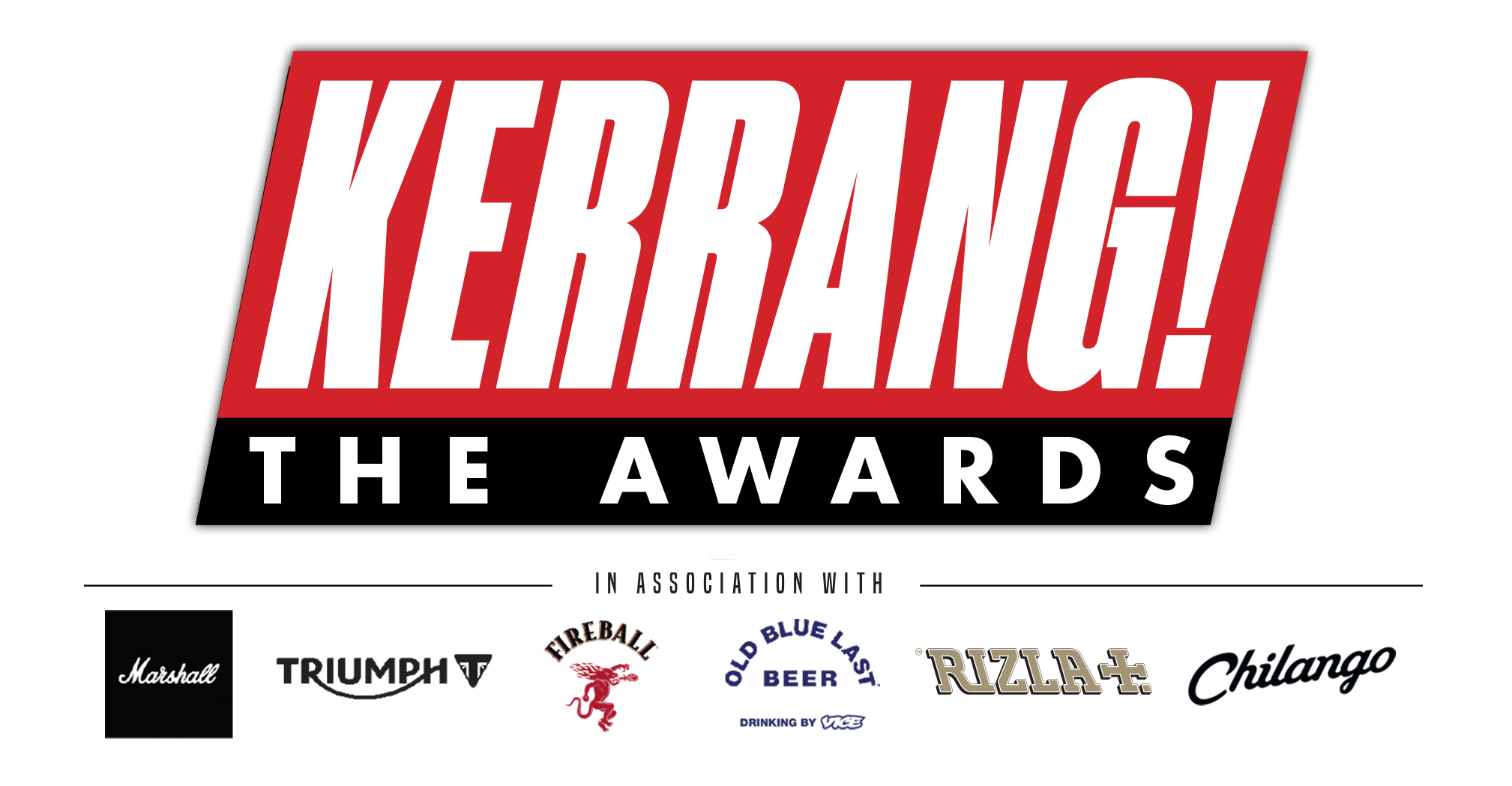 KERRANG! AWARDS WINNERS