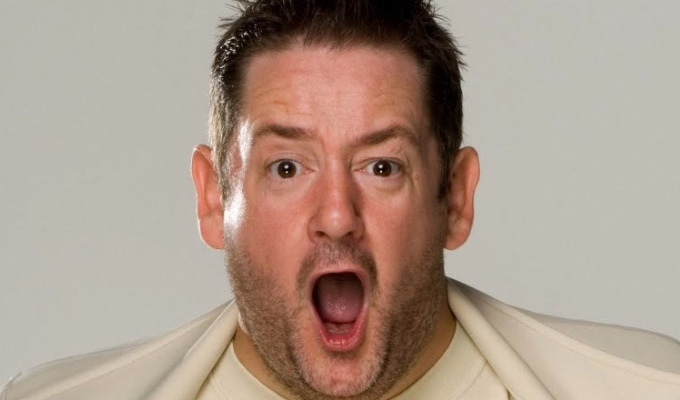 JOHNNY VEGAS ANNOUNCES RESCHEDULED TOUR DATES PLUS 1000 TICKETS FOR NHS WORKERS