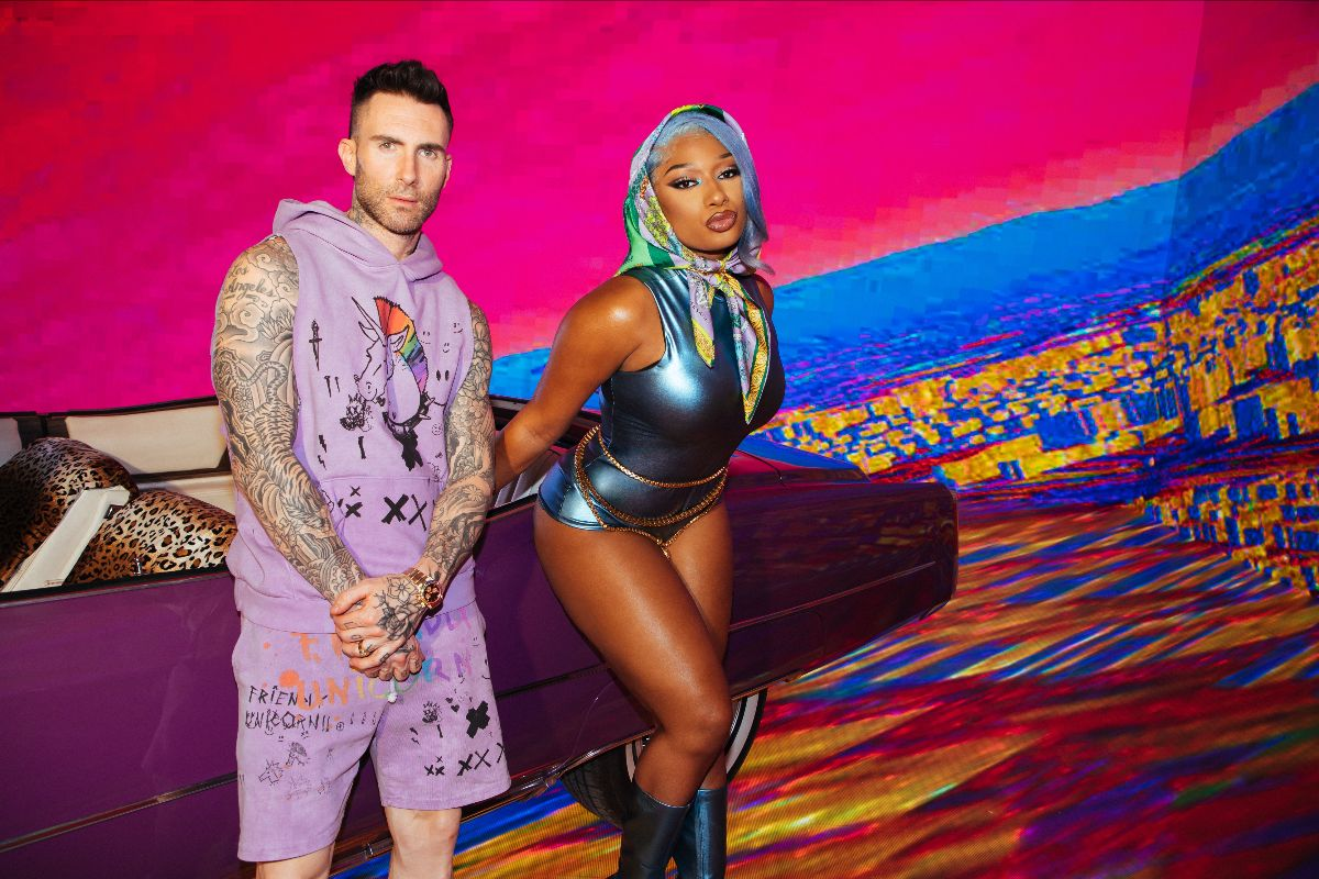 """Maroon 5 Releases New Single """"Beautiful Mistakes"""" featuring Megan Thee Stallion"""