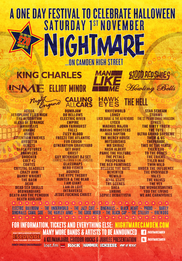 Win Tickets To Nightmare Festival