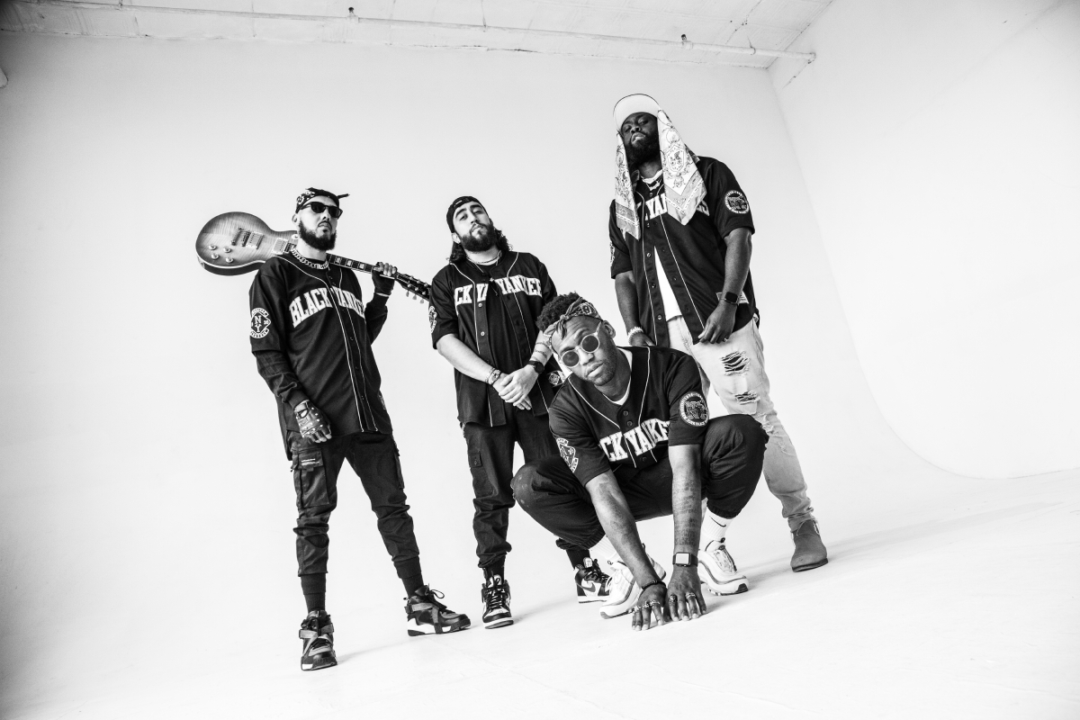 OXYMORRONS pay tribute to 90's Hip-Hop, Rock & Blackness with new single 'Django'