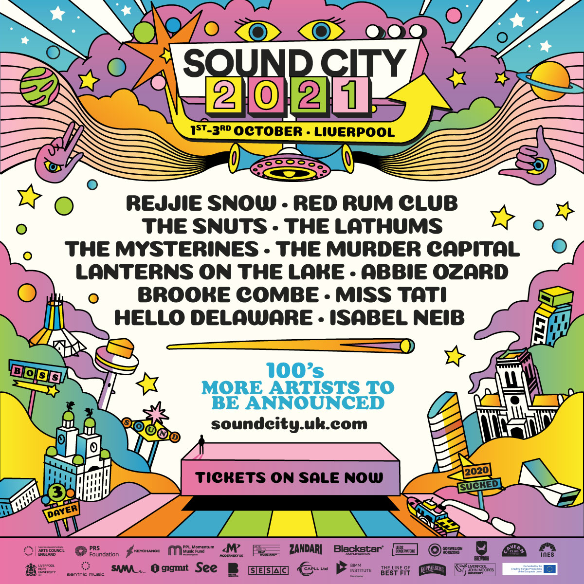 SOUND CITY confirms new festival dates this October