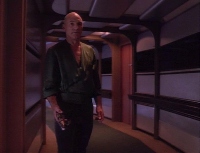Commentary. Star Trek TNG – Starship Mine